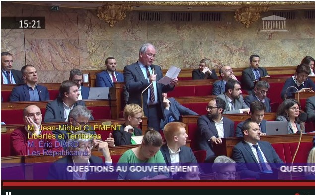 Intervention de Jean-Michel CLEMENT lors des questions au gouvernement du 19 mars 2019
